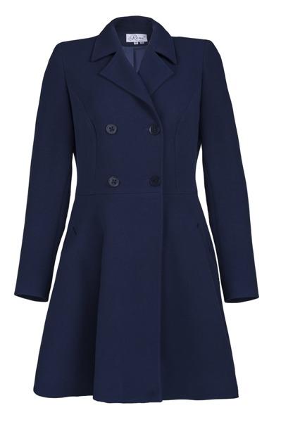 Coat navy blue